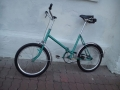 Vintage East german folding bike