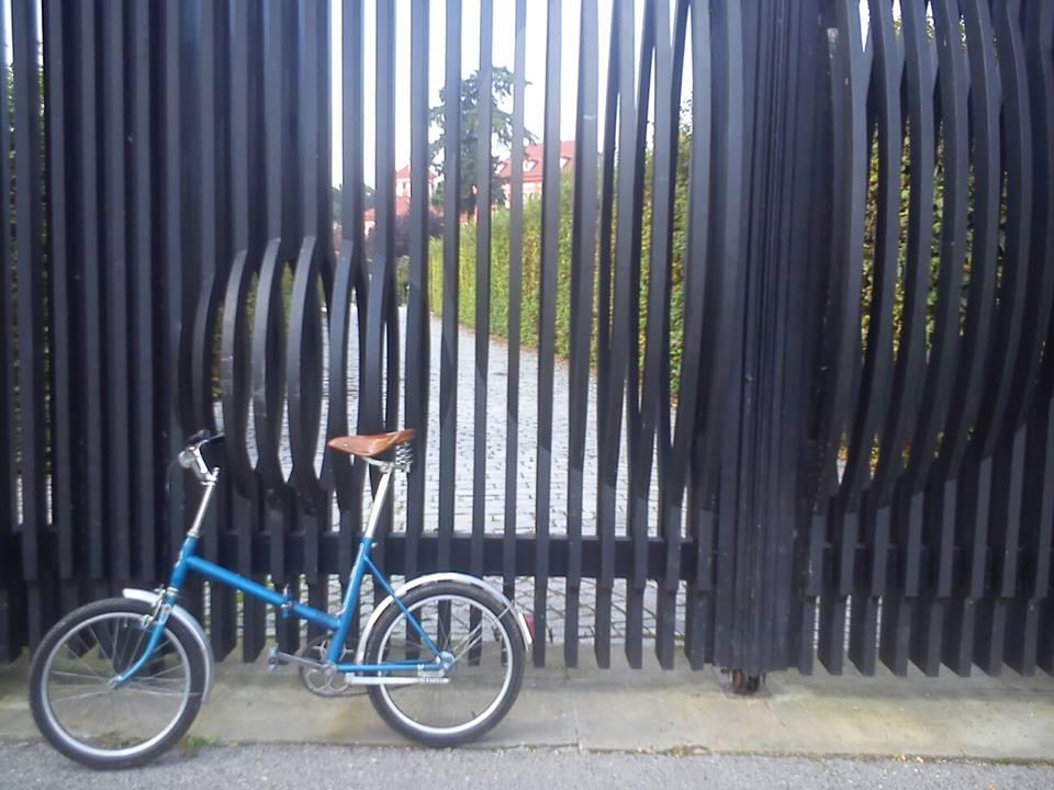 Vintage Czech folding bike