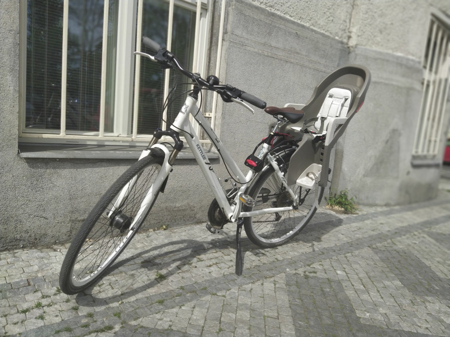 City Bike with children's seat